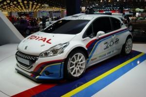 Rallysport hírek: megjelent az új Peugeot